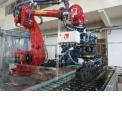 Bottles or box handling robotic solutions - Handling robotic solutions for bottles handling or box paletizer
