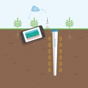 SENTEK PROBE & AQUAFOX DATALOGGER - Irrigation management