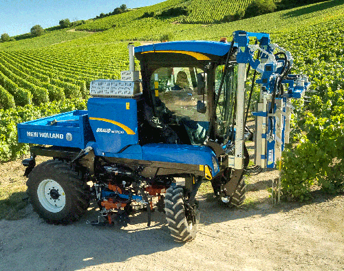 New Holland, médaille d'or Sitevi Innovation Awards 2019
